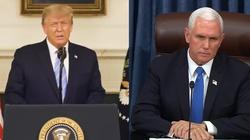 Trump zostanie usunięty z urzędu? Mike Pence: To możliwe  - miniaturka