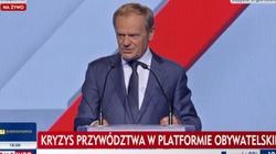 Tusk oficjalnie przewodniczącym PO. ,,Wróciłem''  - miniaturka