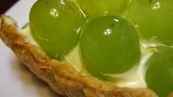 Owocowa tarta: Dziś winogrona - miniaturka