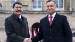 Spotkanie prezydentów Polski i Węgier. Rozmawiali o Trójmorzu, V4 i NATO - miniaturka