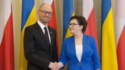 Jaceniuk w Polsce: Chcemy więcej Polski w sprawach ukraińskich - miniaturka