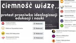 Absolutna perełka! Kraków. Protest przeciwko ideologizacji nauki, a organizatorzy … wszyscy na obcych garnuszkach - miniaturka