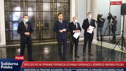 W reakcji na rezolucję PE o LGBT Solidarna Polska składa projekt uchwały ws. obrony dobrego imienia Polski - miniaturka