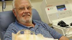 Oddaje krew od 60 lat. Uratował tysiące dzieci - miniaturka