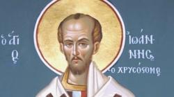 Benedykt XVI: Św. Jan Chryzostom - oto prawdziwie wielki mistrz wiary - miniaturka