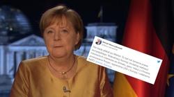 Ostatnie orędzie Merkel. Waszczykowski: Nie będę płakał  - miniaturka
