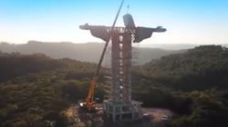 W Brazylii trwa budowa nowego pomnika Chrystusa. Pomnik nie będzie jednak wyższy od świebodzińskiego - miniaturka