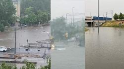 [Zdjęcia, Wideo] Powodziowa ,,apokalipsa'' na ulicach Poznania - miniaturka