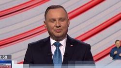 Sondaż. Zdaniem Polaków debatę zdecydowanie wygrał Andrzej Duda - miniaturka