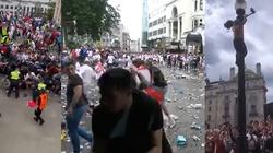 """[Wideo] Wembley. Chaos przed stadionem. UEFA odpowiada ws. """"epidemicznych"""" zarzutów polityków - miniaturka"""