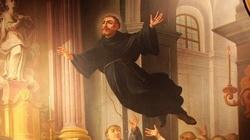 Niezwykły przypadek - latający święty! Święty Józef z Kupertynu - miniaturka