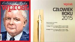 Jarosław Kaczyński Człowiekiem Roku Wprost! - miniaturka