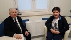 Jarosław Kaczyński zdradza kiedy Beata Szydło wyjdzie ze szpitala - miniaturka