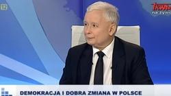 Hit! ,,Prezes Jarosław Kaczyński zatroskany stanem opozycji w Polsce'' - miniaturka