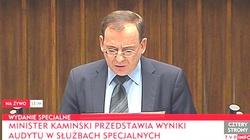 Mariusz Kamiński: Nie będziemy milczeć o nadużyciach w służbach specjalnych! W czasach PO-PSL nękano opozycję  - miniaturka
