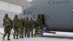 Kanadyjscy żołnierze na Ukrainie - miniaturka
