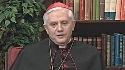 Kardynał Ratzinger: Powracają ponure, ciemne siły - miniaturka