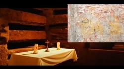 Najstarszy obraz Wniebowstąpienia odkryto właśnie w rzymskich katakumbach  - miniaturka