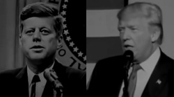 Przemówienia D. Trumpa i J.G Kennedy'ego. Dzieli je 55 lat, a co łączy? - miniaturka