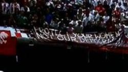 GENIALNA odpowiedź polskich kibiców do Niemców: Chrońcie swoje kobiety, nie naszą demokrację! - miniaturka