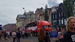 [Wideo] Holandia. Ogromne protesty przeciwko obostrzeniom Covid-19 i starcia z policją - miniaturka