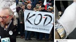 Policja policzyła demonstrantów KOD w Warszawie - miniaturka