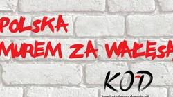 Wałęsa na demonstracji KOD w obronie Wałęsy - miniaturka