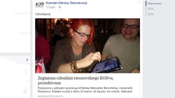 Totalna paranoja członków KOD-u: Zaginioną dziewczynę porównują do zaginięcia ks. Jerzego Popiełuszki! - miniaturka