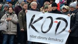 Protesty KOD-owców spowodują problemy w Warszawie - miniaturka