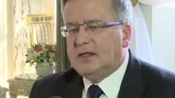 Jachowicz: Upadek Komorowskiego sięgnął dna! - miniaturka