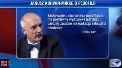 Korwin-Mikke ukarany przez komisję etyki poselskiej za wpisy na Twitterze - miniaturka