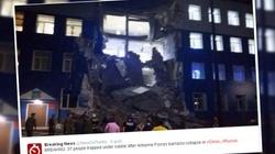 Zawaliły się rosyjskie koszary. Nie żyje 18 żołnierzy - miniaturka