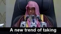 Saudyjski imam Al-Fawzan zakazał robienia zdjęć...kotom! - miniaturka