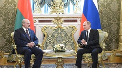 Putin pożyczy Łukaszence 1,5 mld $, ale stawia warunek  - miniaturka