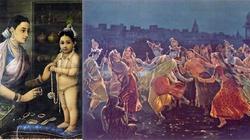Wyznawcy Kryszny oddają cześć bożkowi rozpusty - miniaturka