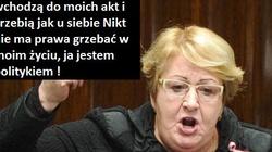 SKANDALICZNE SŁOWA Henryki Krzywonos: Nikt nie ma prawa grzebać w moim życiu! Ja jestem politykiem! - miniaturka