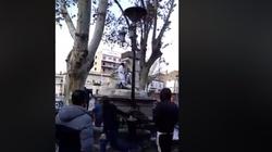 Włochy: Islamista dewastuje figurę Maryi i Jezusa. FILM - miniaturka