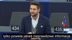 Brawo! Patryk Jaki broni Polski i prawdy w Parlamencie Europejskim - miniaturka