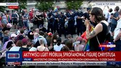 Zatrzymani w piątek aktywiści LGBT z postawionymi zarzutami opuścili komendy  - miniaturka