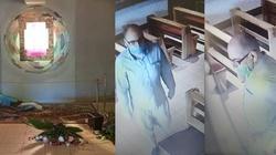 Policja publikuje zdjęcia profanatora kaplicy kościoła św. Maksymiliana M. Kolbego w Koninie - miniaturka