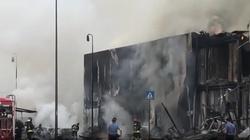 [Wideo] Włochy. Osiem osób zginęło w katastrofie prywatnego samolotu - miniaturka