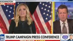USA. Skandal medialny. FOX News przerwał wystąpienie rzecznik Białego Domu - miniaturka