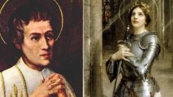 Święty Ludwiku i święta Joanno D'Arc orędujcie za Francją w Niebie! Niech wróci do Boga! - miniaturka