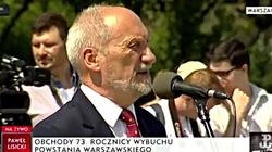 Zobacz, jak Macierewicz gasi reportera TVN MOCNE - miniaturka