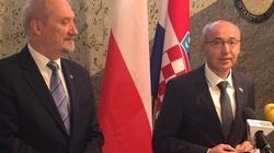 Polska wesprze budowę centrum doskonalenia NATO w Chorwacji - miniaturka