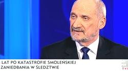 Macierewicz: Wszystkie osoby, które były uwikłane w sprawę smoleńską awansowały!  - miniaturka