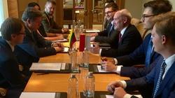 Macierewicz: Wolna Ukraina jest warunkiem ładu w Europie - miniaturka