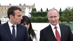 Macron, Putin- dwa bratanki? Wyciekł list prezydenta Francji do Putina - miniaturka