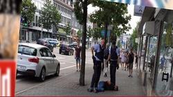 Islamista wyskakujący z maczetą - nowa wizytówka Niemiec!  - miniaturka