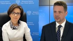 Min. Maląg odpowiada na manipulację Trzaskowskiego - miniaturka